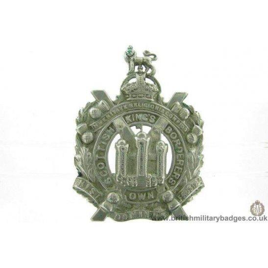 A1F/11 - Kings Own Scottish Borderers Regiment KOSB Cap Badge