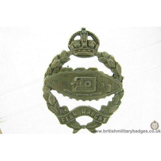 A1F/20 - Royal Tank Regiment / Corps Cap Badge