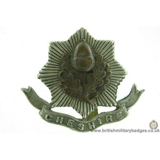 A1F/37 - Cheshire Regiment Cap Badge