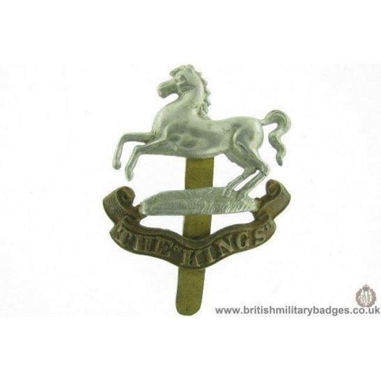 A1F/38 - The King's / Kings Liverpool Regiment Cap Badge