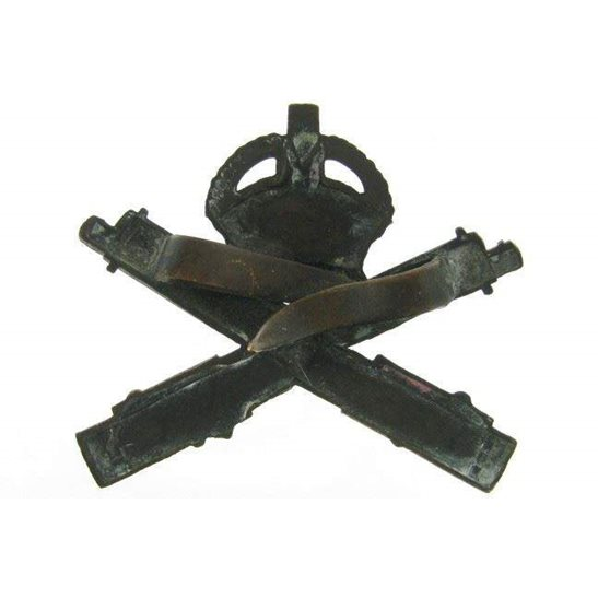 additional image for A1F/45 - Machine Gun Corps OFFICERS Bronze MGC Cap Badge