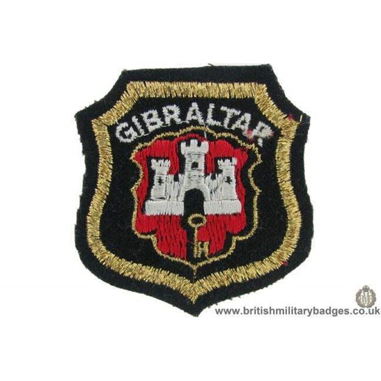 R1B/15 - Gibraltar Regiment Blazer Badge