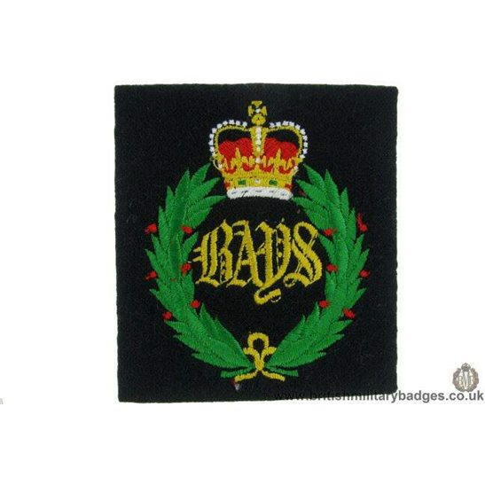 "R1B/18 - 2nd Dragoon Guards ""Queens Bays"" Regiment Blazer Badge"