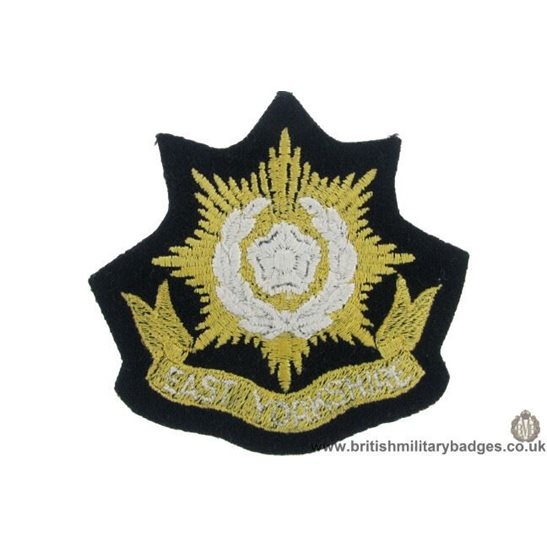 R1B/21 - East Yorkshire Regiment Blazer Badge