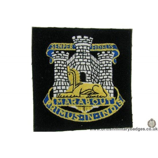R1B/29 - The Dorset / Dorsetshire Regiment Blazer Badge