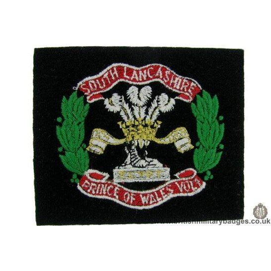R1B/31 - South Lancashire Regiment Blazer Badge