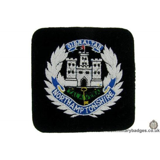 R1B/36 - The Northamptonshire Regiment Blazer Badge