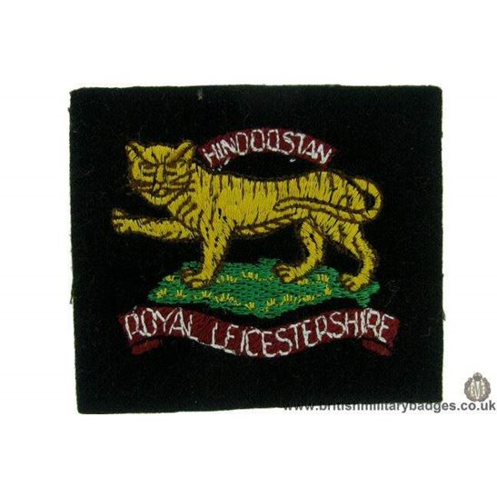 R1B/38 - The Royal Liecestershire Regiment Blazer Badge