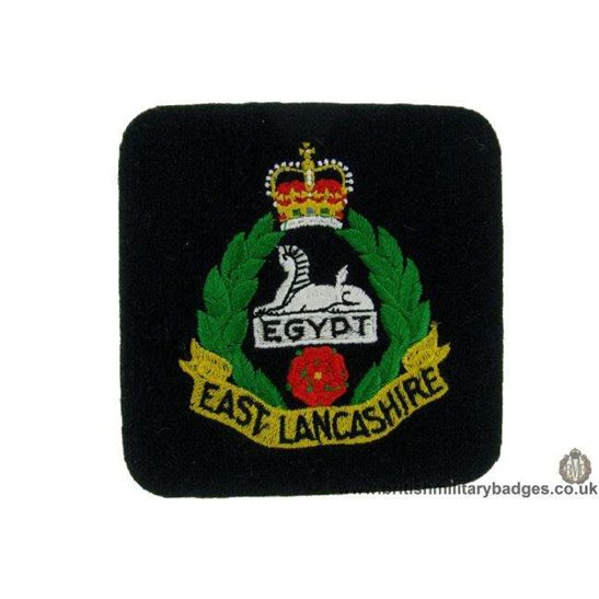 R1B/40 - The East Lancashire Regiment Blazer Badge