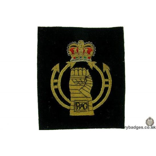 R1B/55 - RAC Royal Armoured Corps WIRE Blazer Badge