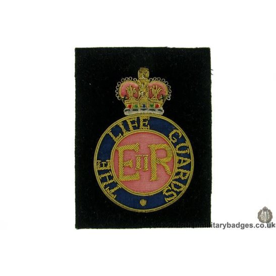 R1B/57 - The Life Guards Regiment WIRE Blazer Badge