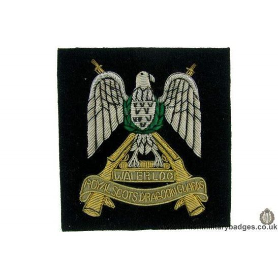 R1B/69 - Royal Scots Dragoon Guards Regiment Blazer Badge