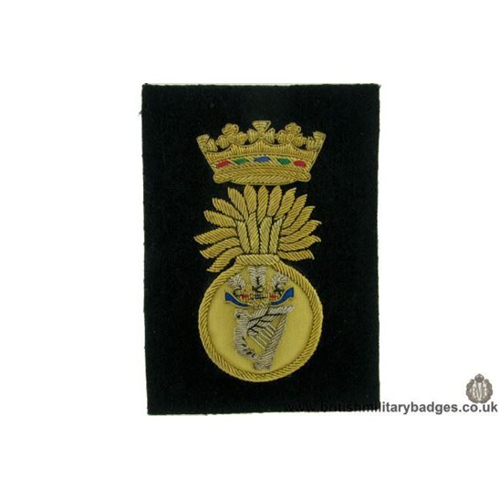 R1B/70 - Royal Irish Fusiliers RIF Regiment WIRE Blazer Badge
