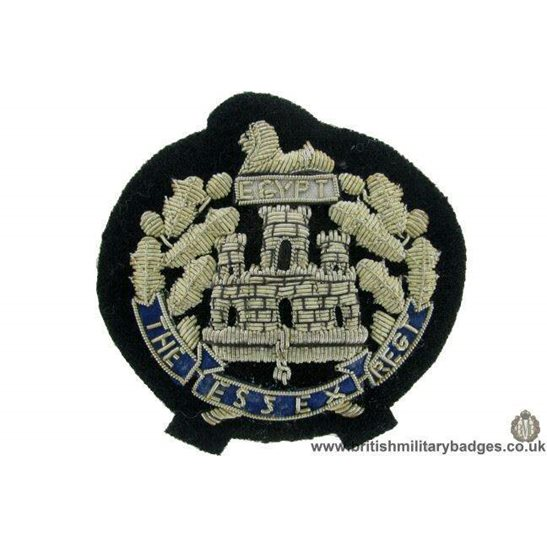 R1B/79 - The Essex Regiment WIRE Blazer Badge