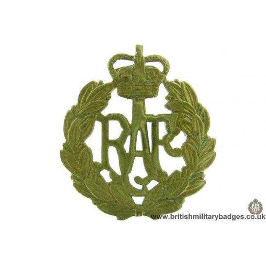A1F/48 - Royal Air Force RAF Cap Badge - QC