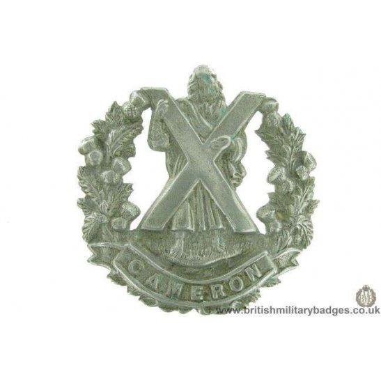 A1F/63 - Cameron Highlanders Regiment Cap Badge