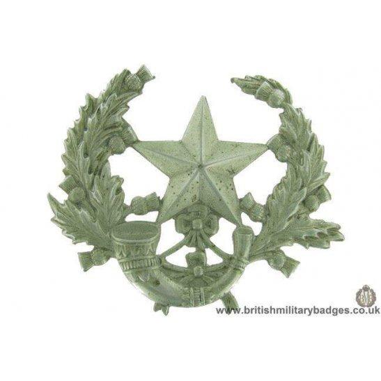 """A1F/65 - The Cameroonians """"Scottish Rifles"""" Regiment Cap Badge"""