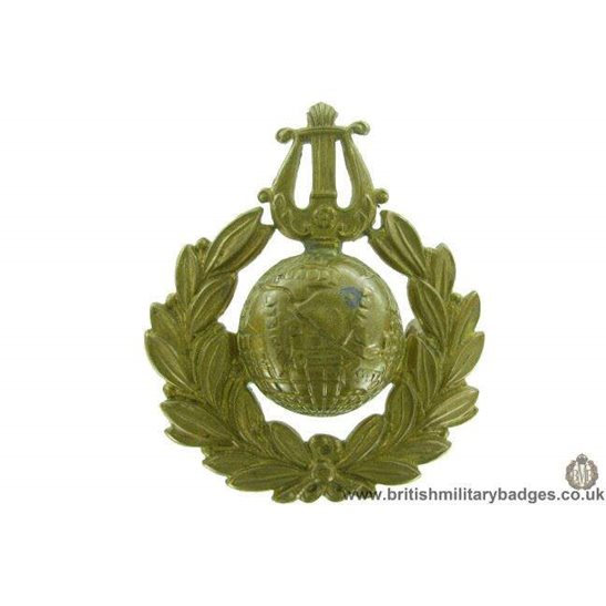 A1F/98 - Royal Naval School of Music Marines Cap Badge
