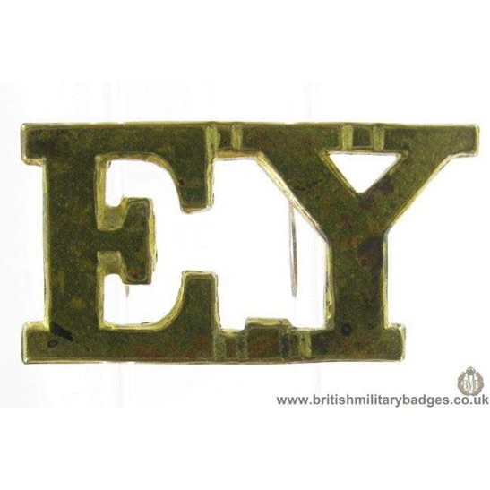 C1F/11 - Essex Yeomanry Shoulder Title - EY