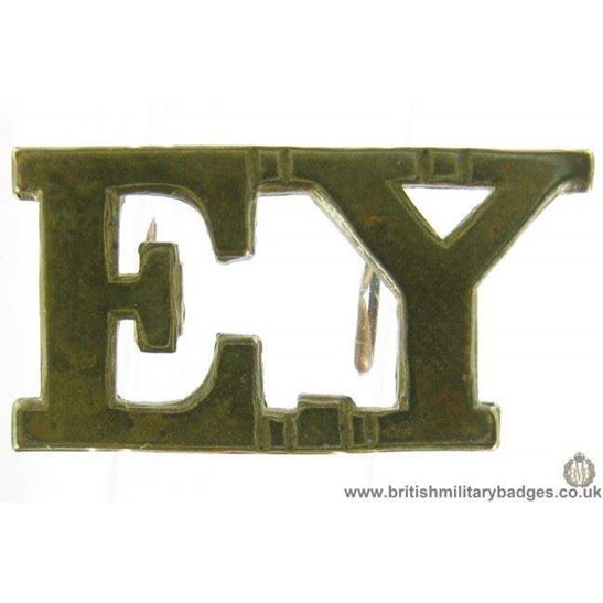 C1F/15 - Essex Yeomanry Shoulder Title - EY