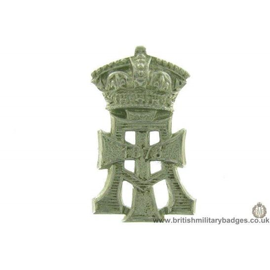 "B1C/99 - Green Howards ""The Yorkshire"" Regiment Collar Badge"