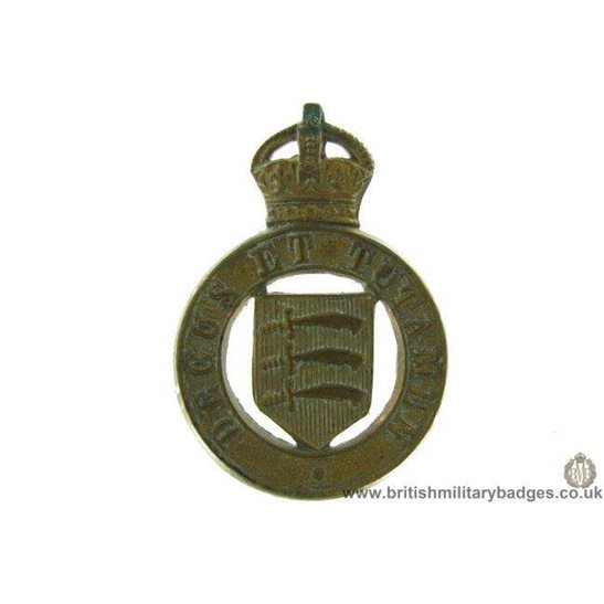 B1D/05 - The Essex Yeomanry Regiment Collar Badge