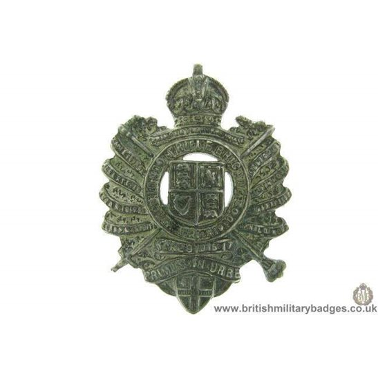 B1D/17 - The London Rifle Brigade Regiment Collar Badge