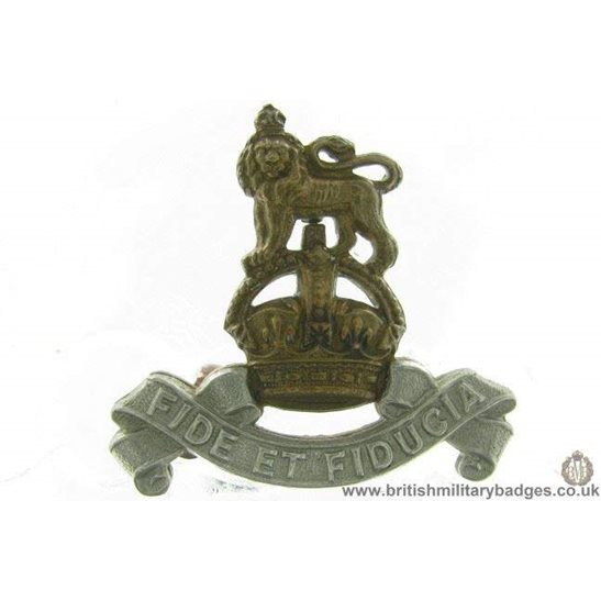 B1D/37 - Royal Army Pay Corps RAPC Collar Badge