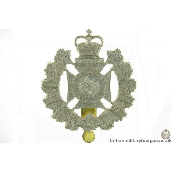 A1G/07 - Royal Winnipeg Rifles Regiment Canadian Cap Badge - QC