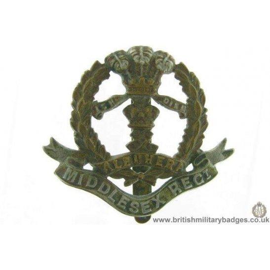 "A1G/54 - The Middlesex Regiment Cap Badge - ""Albuhera"""
