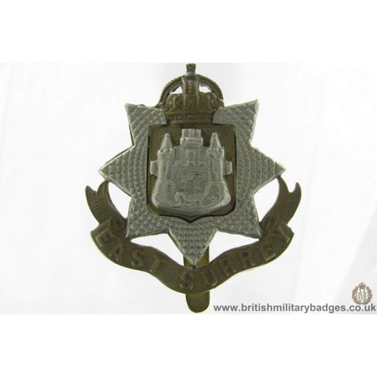 A1G/69 - East Surrey Regiment Cap Badge