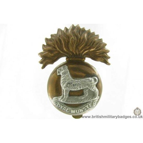 A1G/74 - Royal Munster Fusiliers RMF Regiment Cap Badge