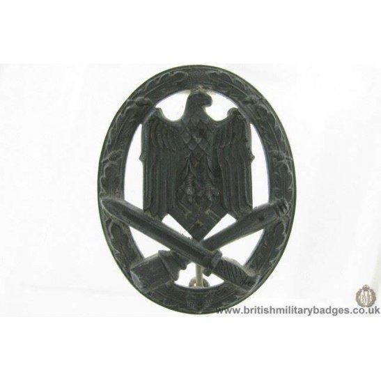 N1B/06 - WW2 Germany Ground Assault Badge in Zinc