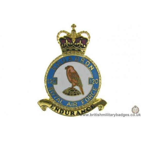 K1X/27 - 120 Squadron RAF Royal Air Force PLAQUE Badge