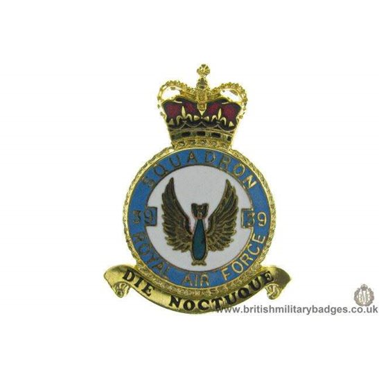 K1X/31 - 39 Squadron RAF Royal Air Force PLAQUE Badge