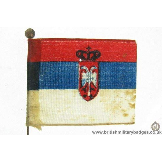 K1B/37 - WW1 Help Russia Flag Day Fundraising Pin Badge