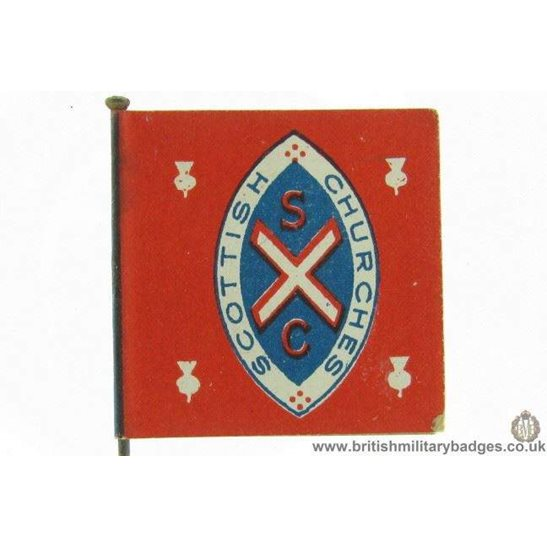 additional image for K1B/37 - WW1 Help Russia Flag Day Fundraising Pin Badge
