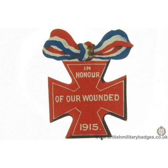 additional image for K1B/40 - WW1 Scottish Soldiers Flag Day Fundraising Pin Badge