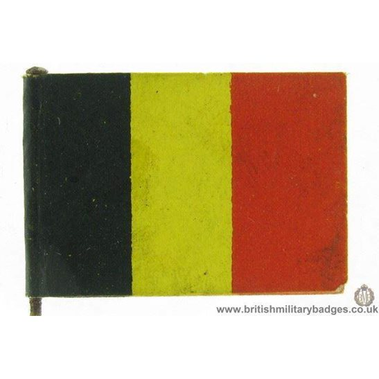 K1B/57  WW1 Help Belgium, Belgian Flag Day Fundraising Pin Badge