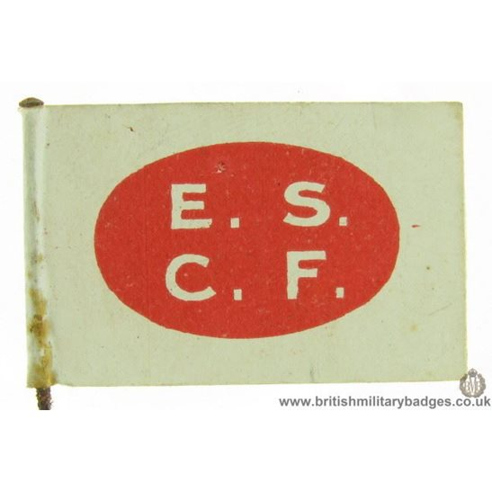 K1B/56 - WW1 UNKNOWN ESCF Flag Day Fundraising Pin Badge
