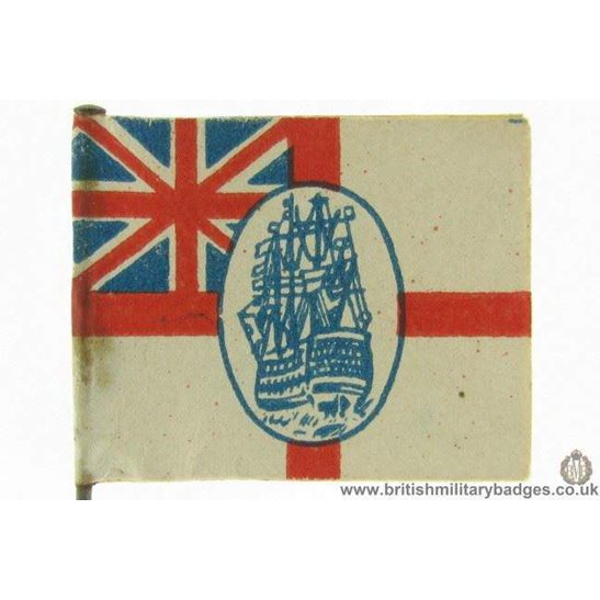 K1B/64 - WW1 British Royal Navy Flag Day Fundraising Pin Badge