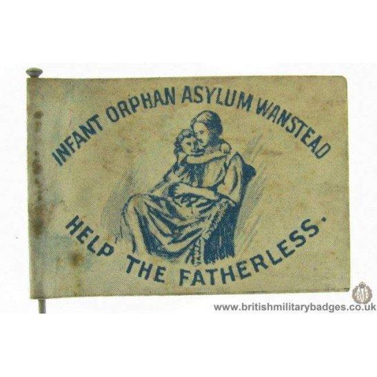 K1B/70 - WW1 Infant Orphan Asylum Wanstead Fundraising Pin Badge