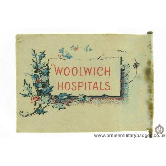 additional image for K1B/94 - WW1 Woolwich Hospitals Flag Day Fund Pin Badge