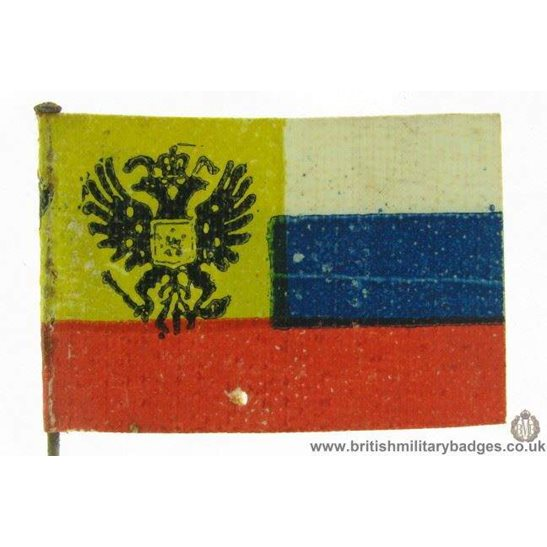 K1C/03 - WW1 Help Russia Flag Day Fundraising Pin Badge