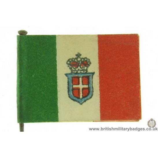 K1C/16 - WW1 Help Italy, Italian Flag Day Fundraising Pin Badge