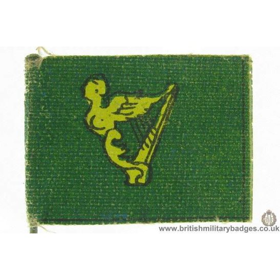K1C/21 WW1 Irish Soldiers Ireland Flag Day Fundraising Pin Badge