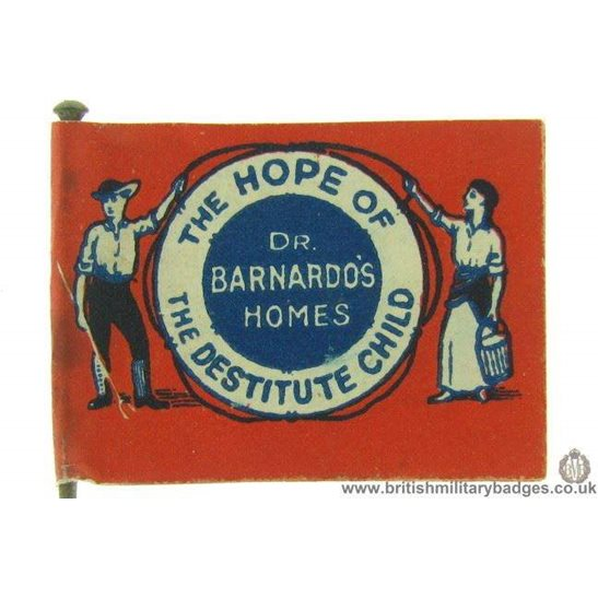 K1C/48 Dr Barnardo's Homes Childrens Charity Flag Day Fund Badge