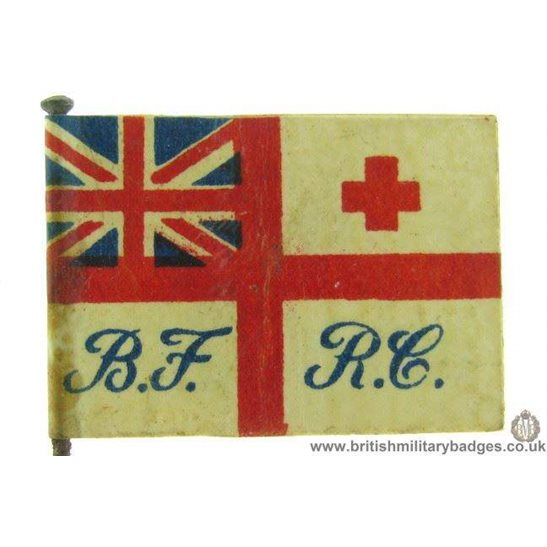 K1C/56 - WW1 Royal Navy Red Cross Fund Flag Day Pin Badge