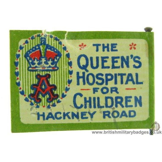 K1C/81 - Queens Hospital for Children Hackney Road Pin Badge