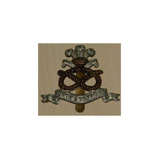 OO09/018 - North Staffordshire Regiment Cap Badge